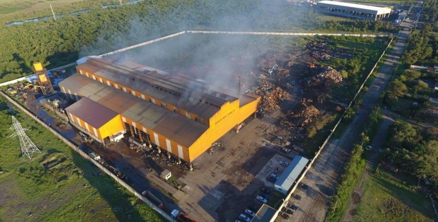 Принадлежащий компании Epas Group металлургический завод в Поти, в Грузии. (Foto: epasdemir.com)