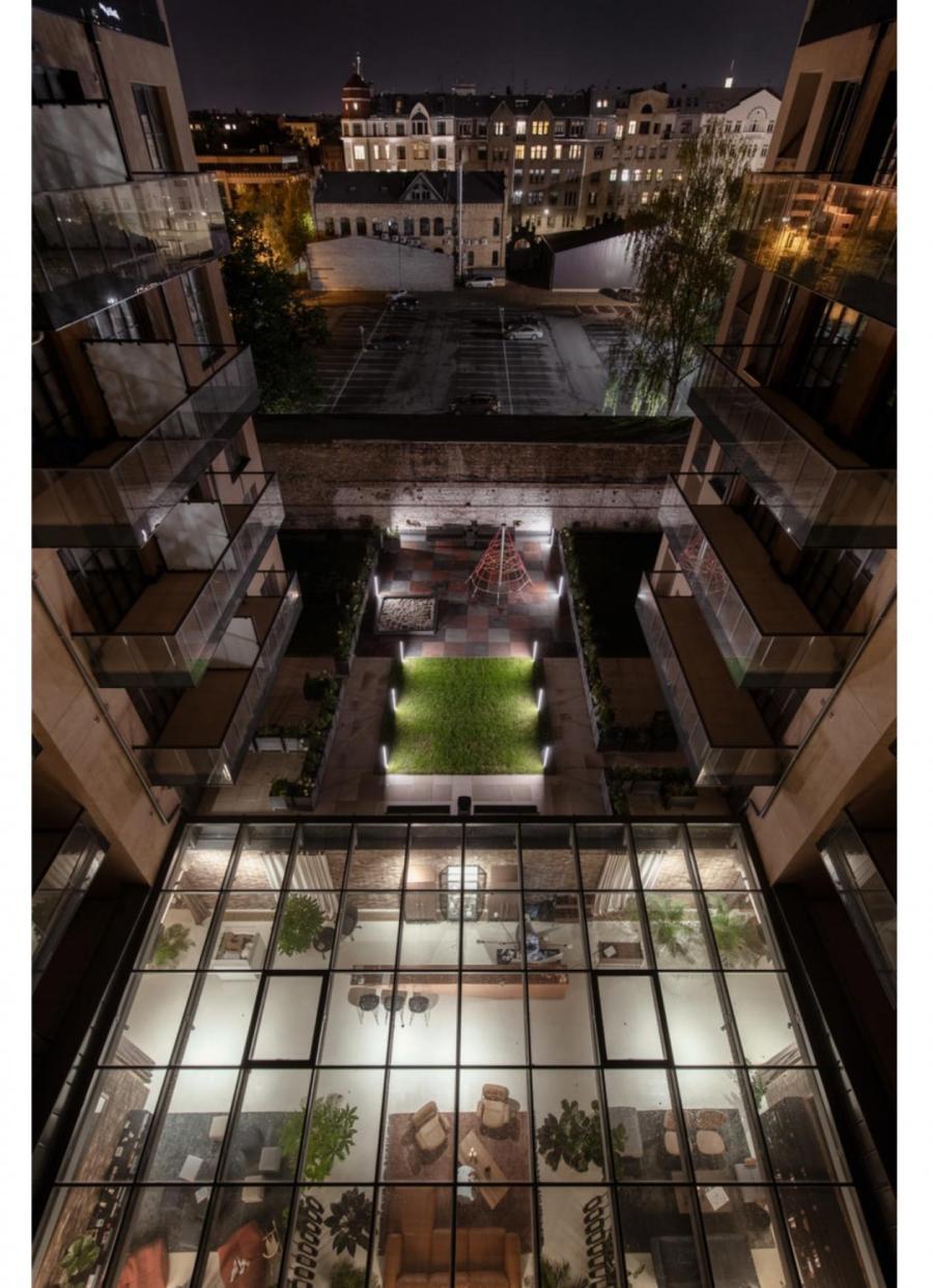 Lofts&Rosegold, фасады нового здания, внутрениий двор