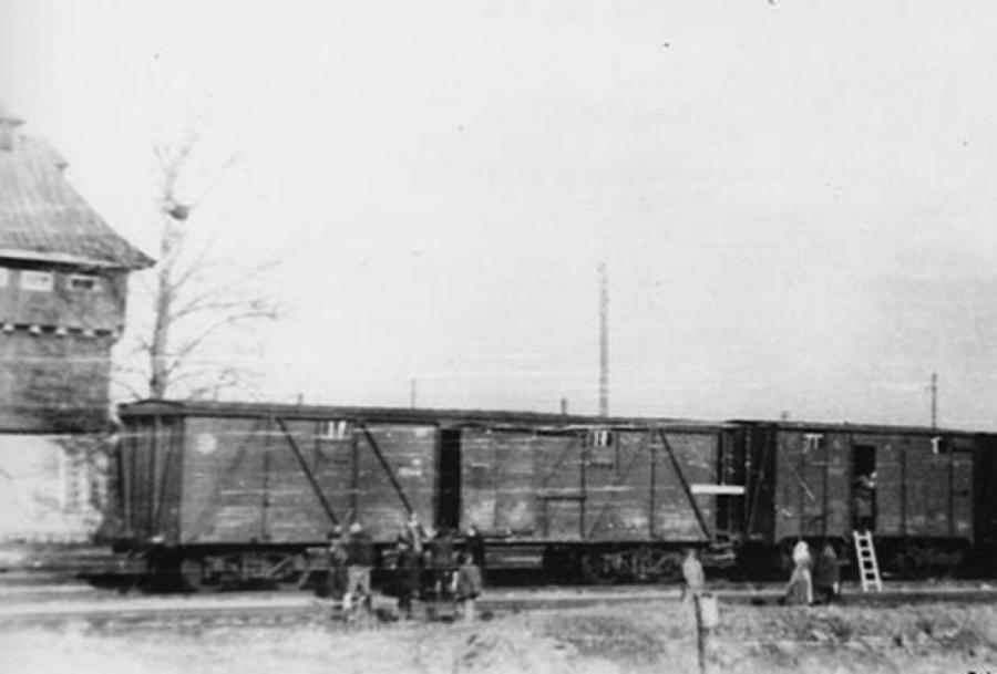 Депортация жителей Прибалтики, март 1949 года. Фото: Музей оккупации Латвии.