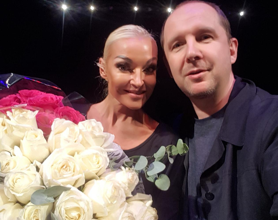 Москва дарит неожиданные встречи. Например, с балериной Волочковой.