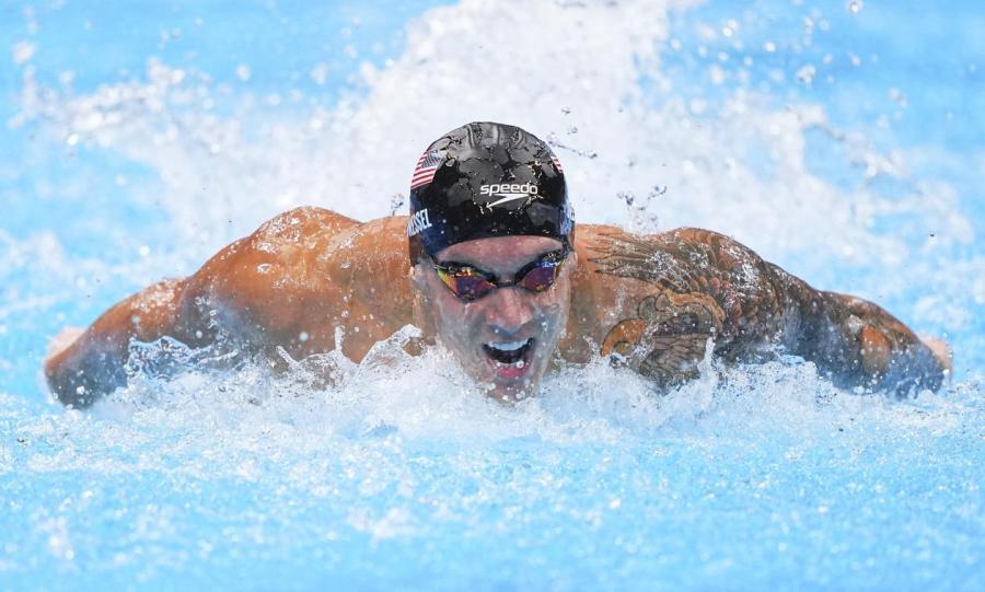 Американский пловец Калеб Дрессел выиграл сразу пять золотых медалей.